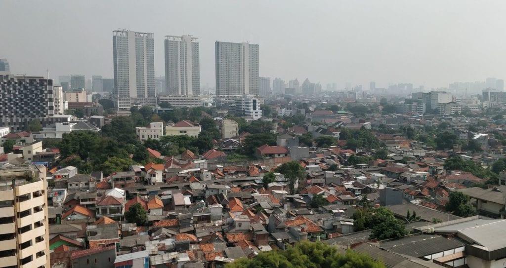 DoubleTree By Hilton Hotel Jakarta Zimmer Blick