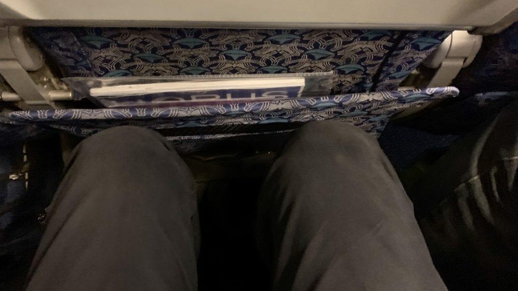 Egypt Air B737 800 Economy Class Sitze1