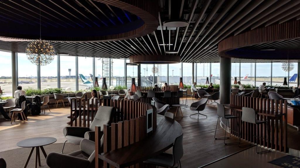 Diners Club Kreditkarten Flughafen-Lounges