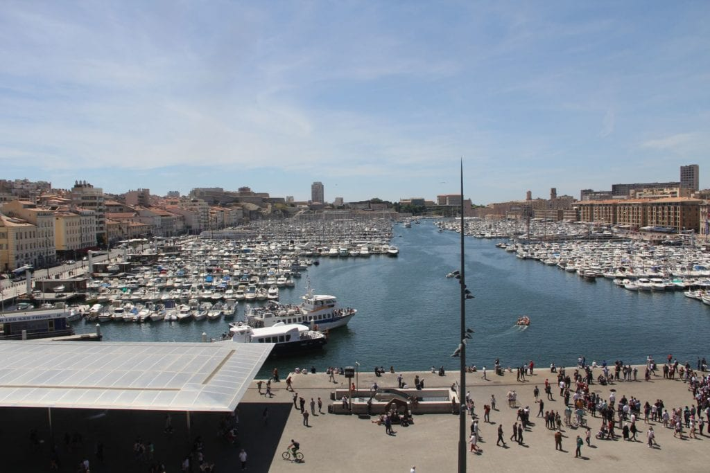 Grand Hotel Beauvau Marseille Duplex Suite Ausblick