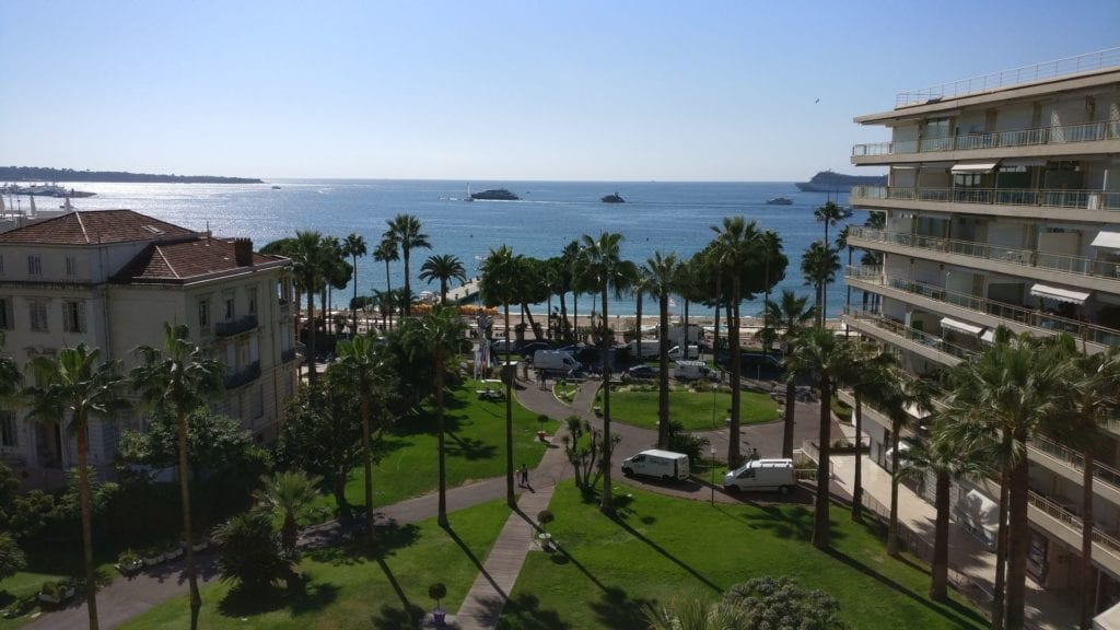 Grand Hotel Cannes Prestige Room Ausblick