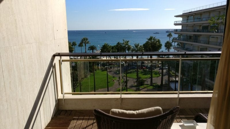 Grand Hotel Cannes Prestige Room Balkon 2