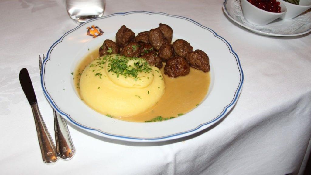 Grand Hotel Stockholm Abendessen