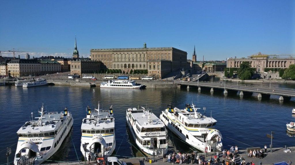 Grand Hotel Stockholm Deluxe Zimmer Ausblick