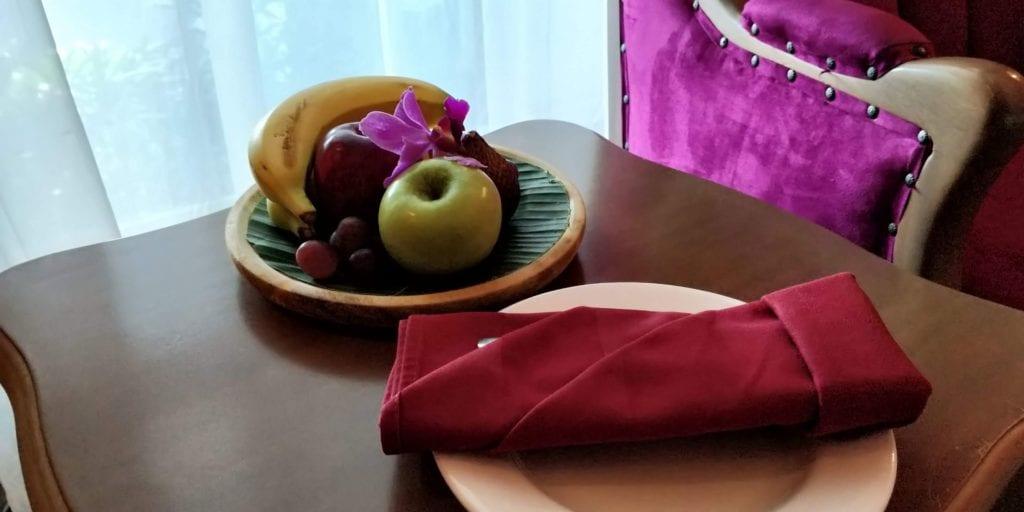 Grand Mercure Yogyakarta Zimmer Willkommensgeschenk
