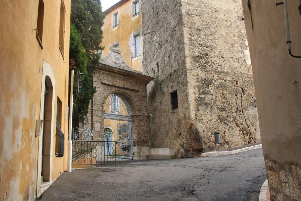 Grasse Town Hall Arch