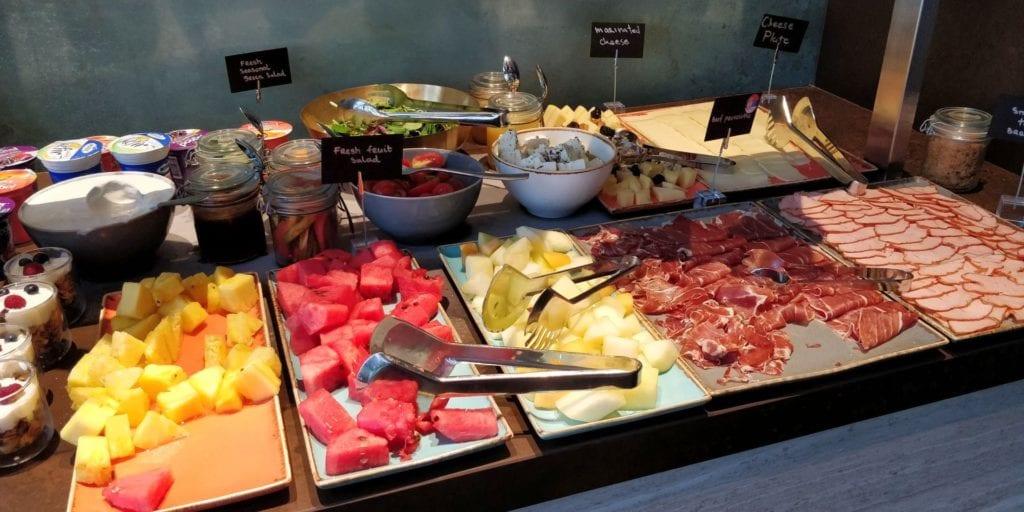 Hilton Belgrad Executive Lounge Frühstück