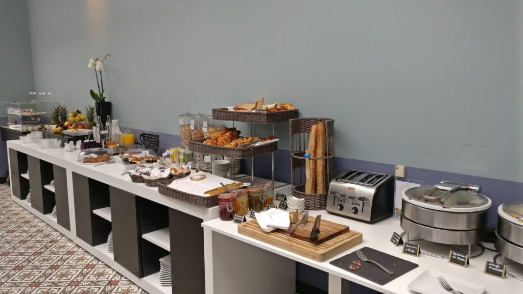 Hotel Jules Cesar Arles Frühstück