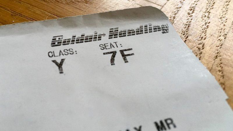 Ticket Buchungsklasse