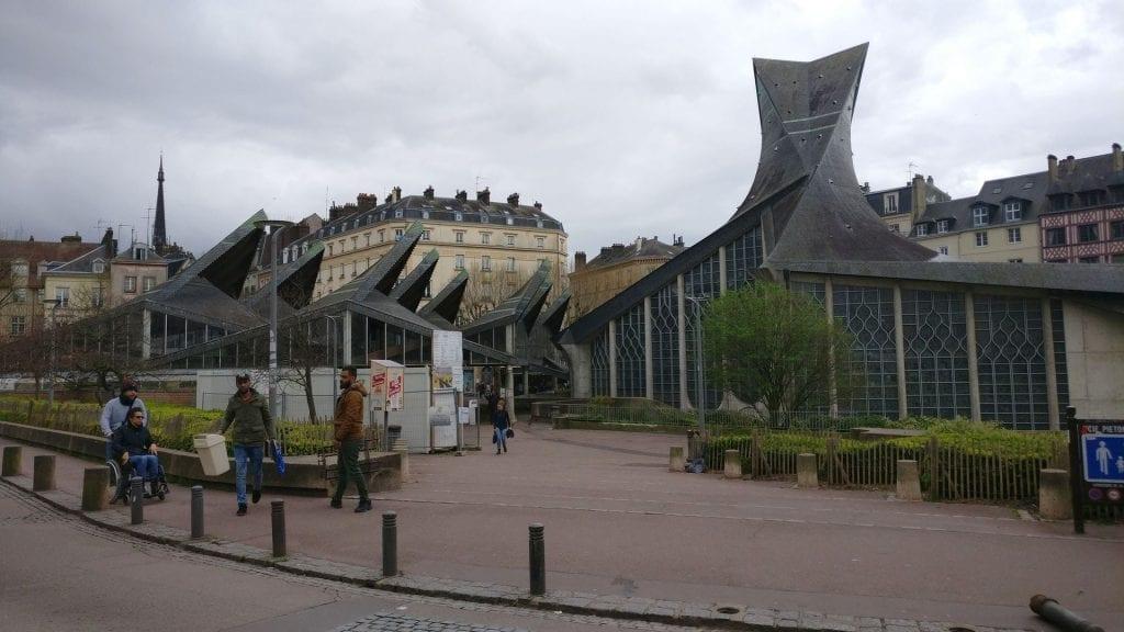 Jean Arc Kirche Rouen