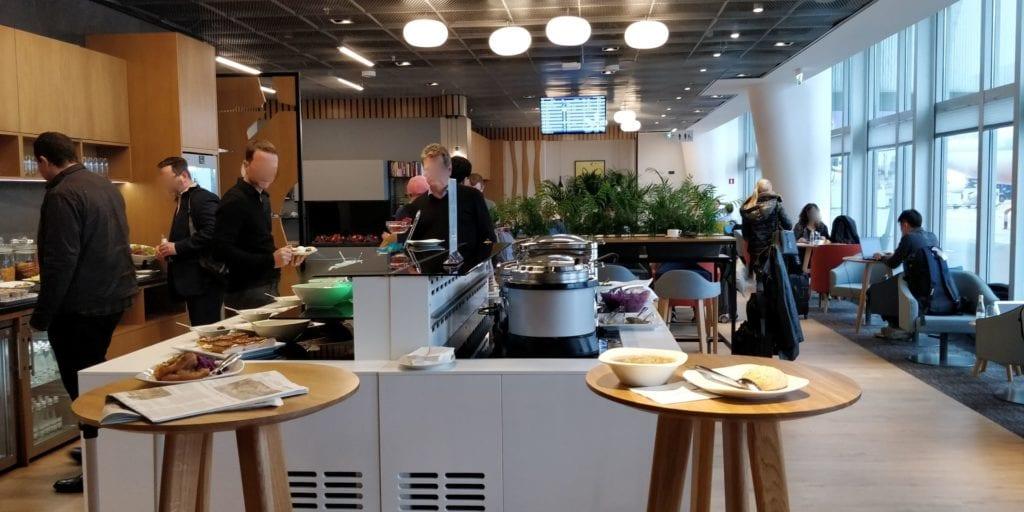 LOT Business Lounge Mazurek Warschau