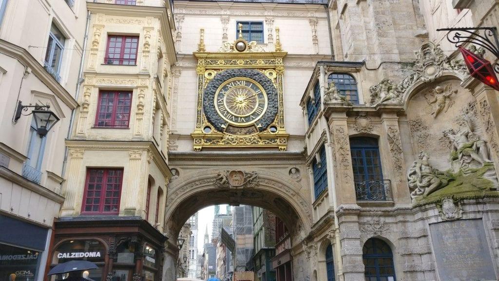 Le Gros Horloge Rouen