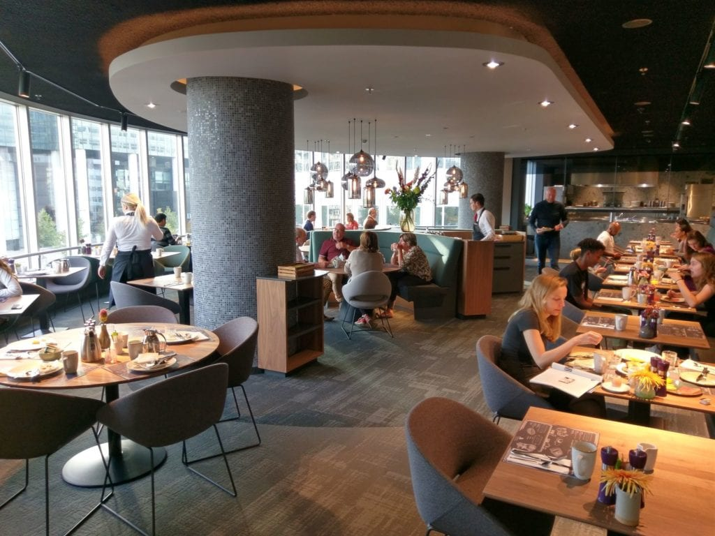 Marriott Rotterdam Frühstück