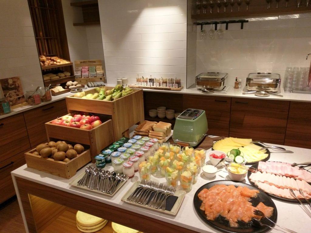 Marriott Rotterdam Lounge Frühstück