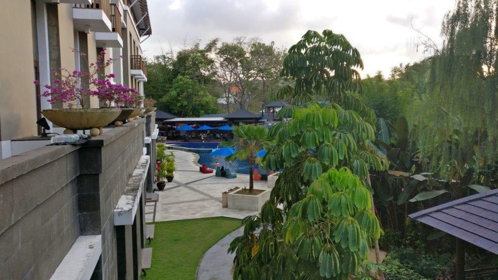 Mercure Bali Nusa Dua Zimmer Ausblick