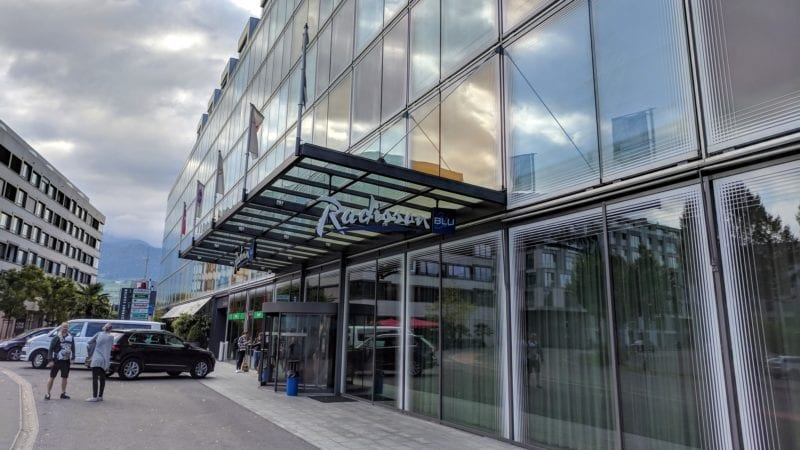 Radisson Blu Luzern Exterior