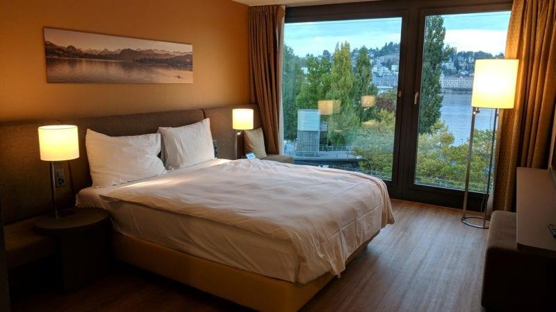 Radisson Blu Luzern Schlafzimmer