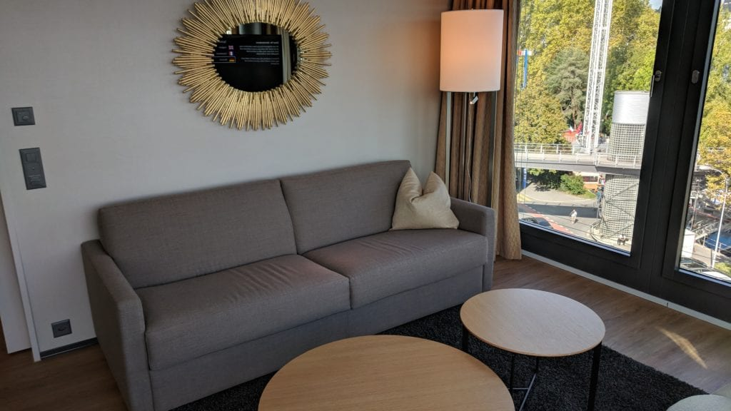 Radisson Blu Luzern Sofa
