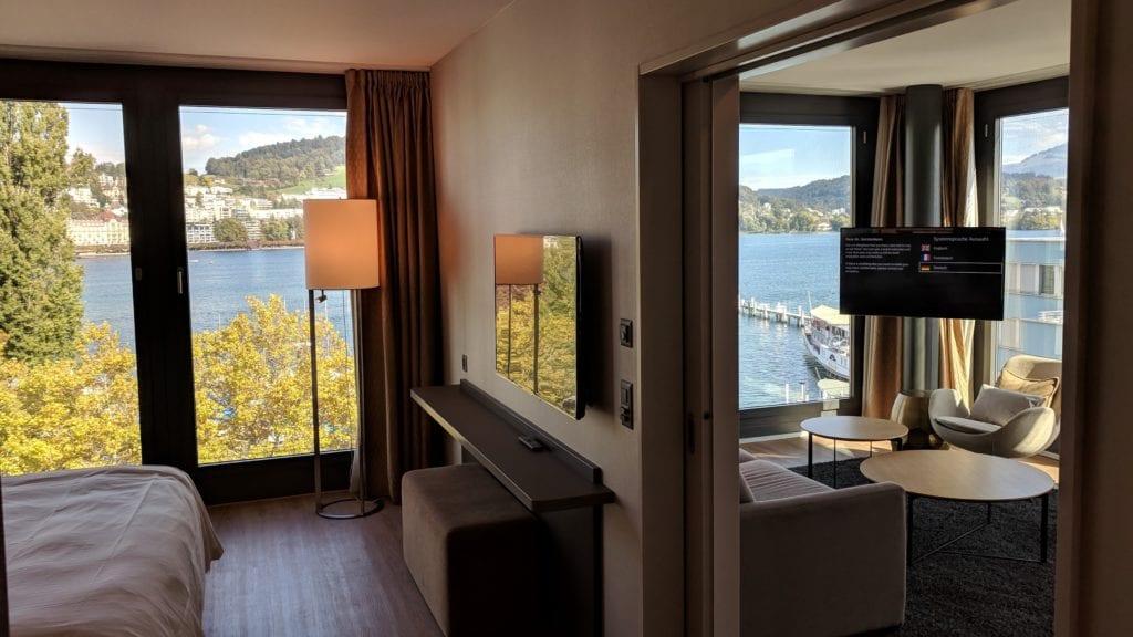 Radisson Blu Luzern Suite