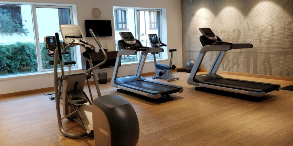 Radisson Collection Hotel Old Mill Belgrad Fitness 2