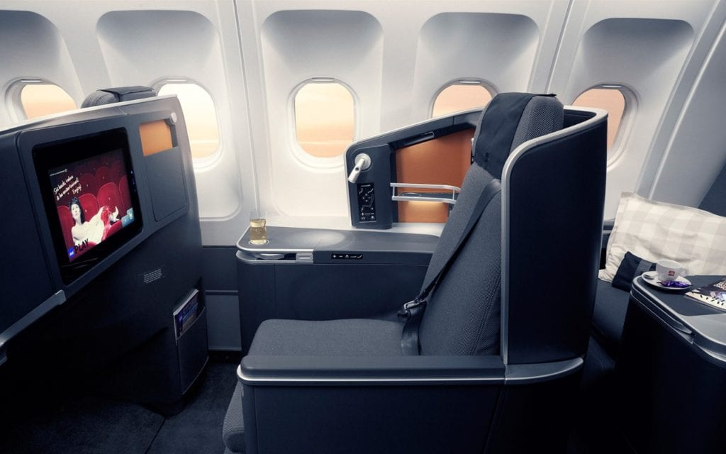 SAS Business Class Prämienflug Meilen