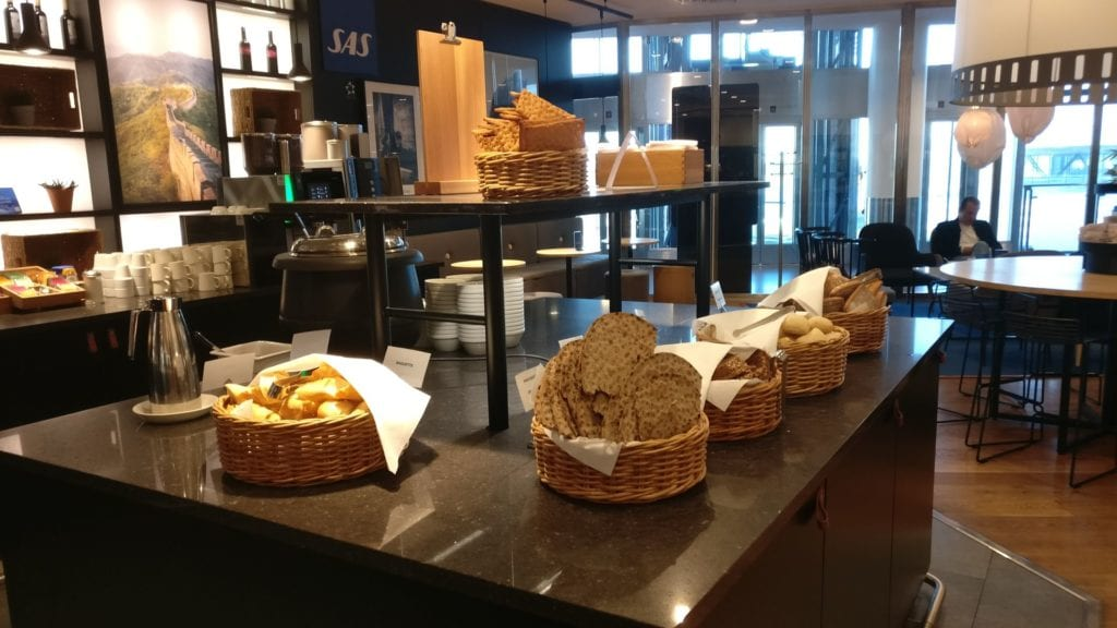 SAS Business Lounge Stockholm Buffet 3
