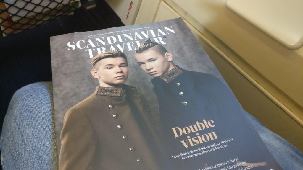 SAS Economy Class Kurzstrecke Magazin