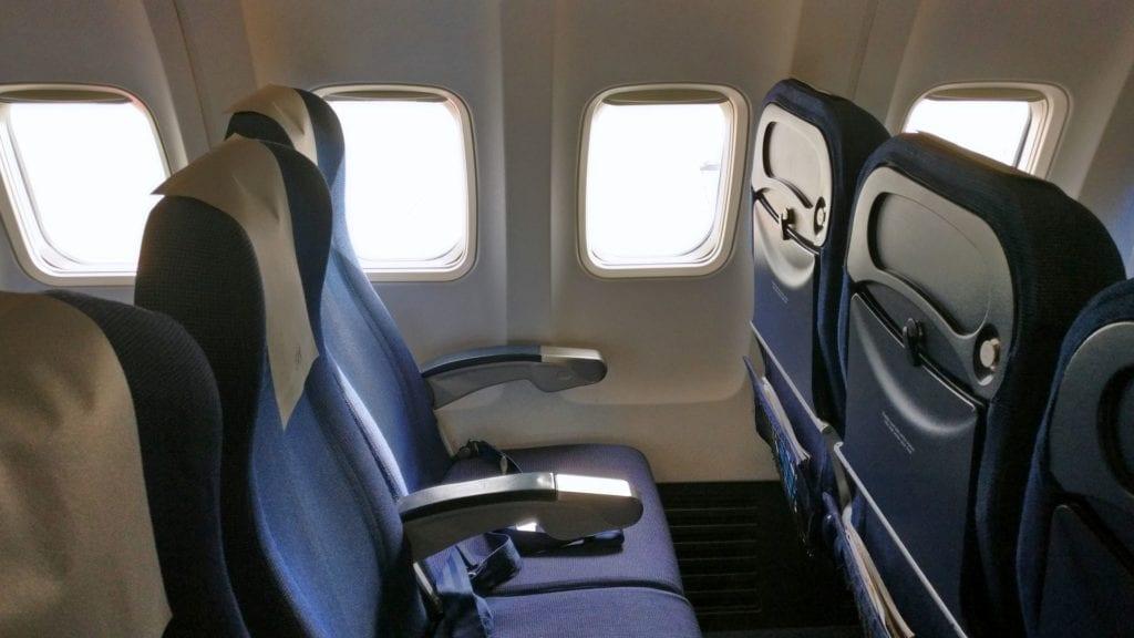 SAS Economy Class Kurzstrecke Sitz