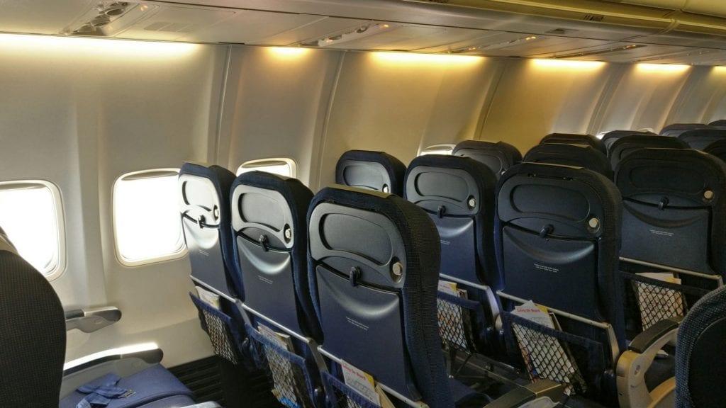 SAS Economy Class Kurzstrecke Sitz 3