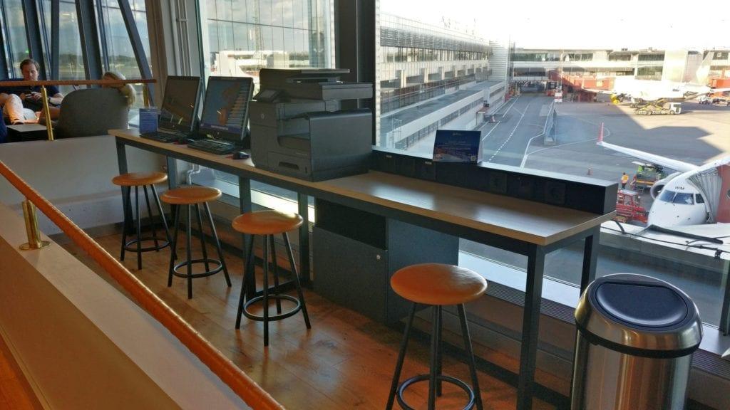 SAS Gold Lounge Stockholm 3