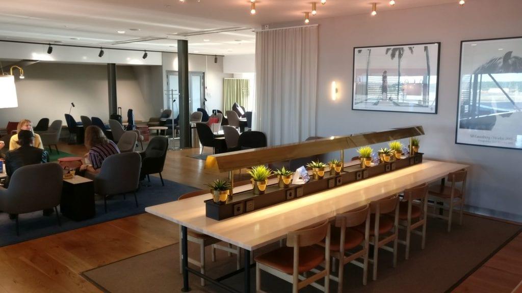 SAS Gold Lounge Stockholm 5 Status Lounge EuroBonus Zugang