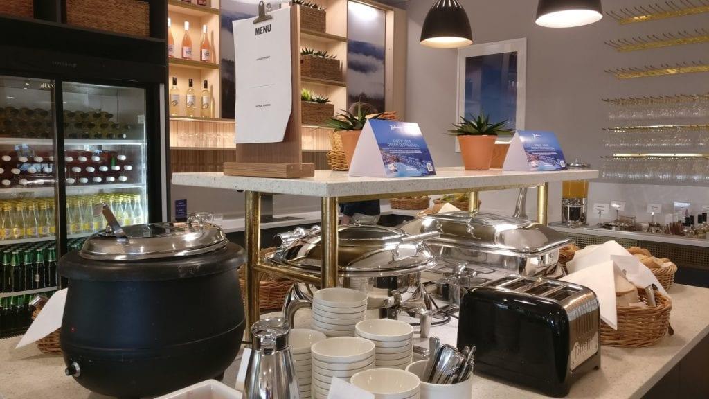 SAS Gold Lounge Stockholm Buffet