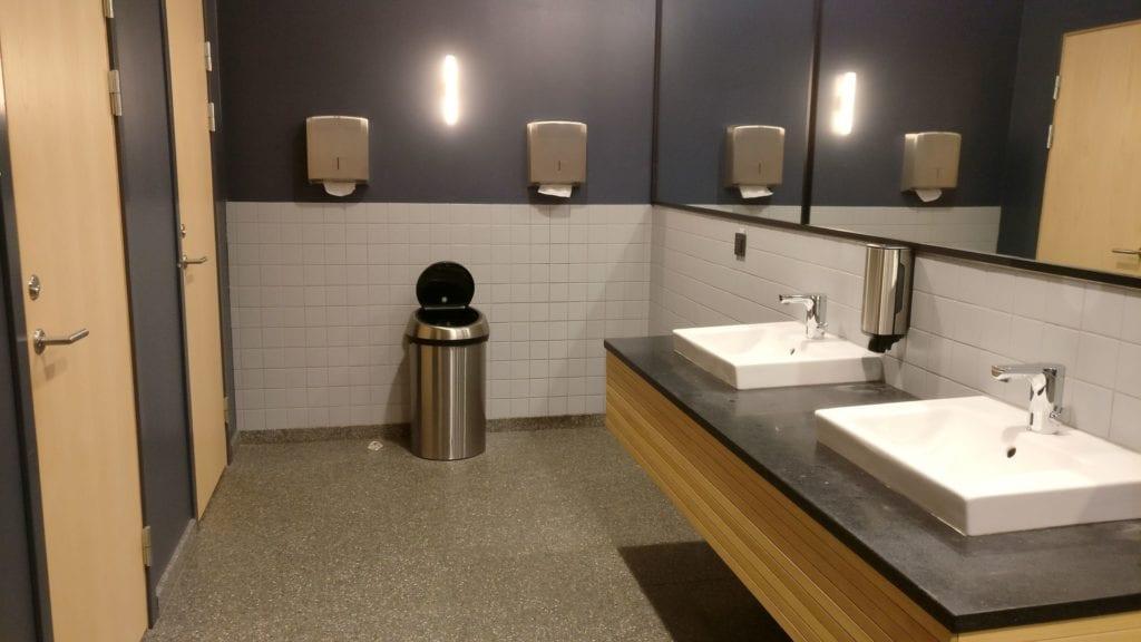 SAS Gold Lounge Stockholm Toiletten