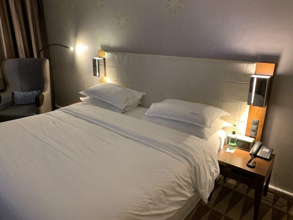 Sheraton München Westpark Executive Zimmer Bett
