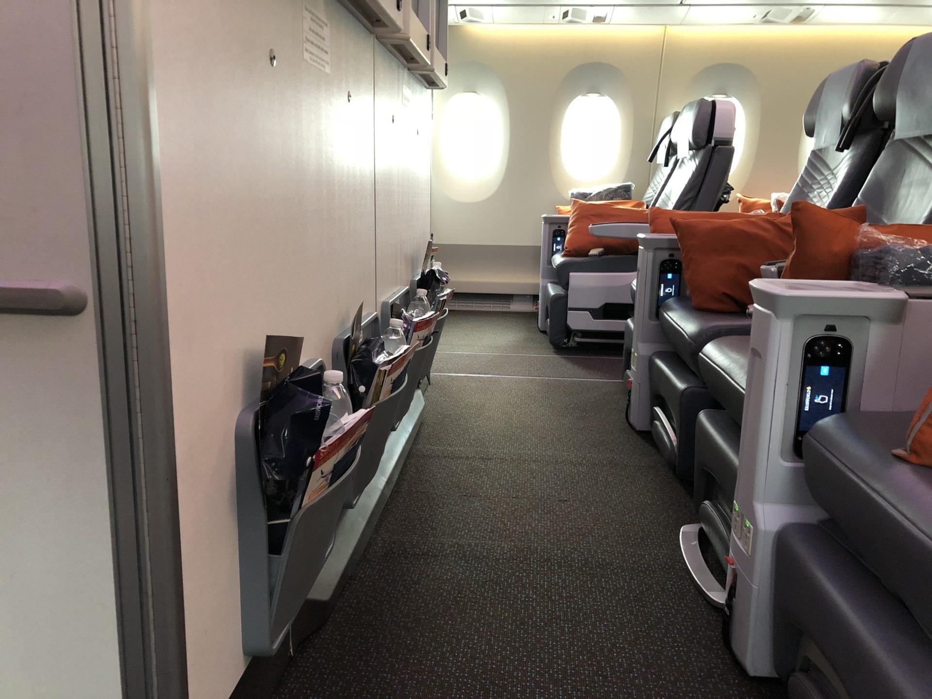 Singapore Airlines Premium Economy Class Bulkhead 2