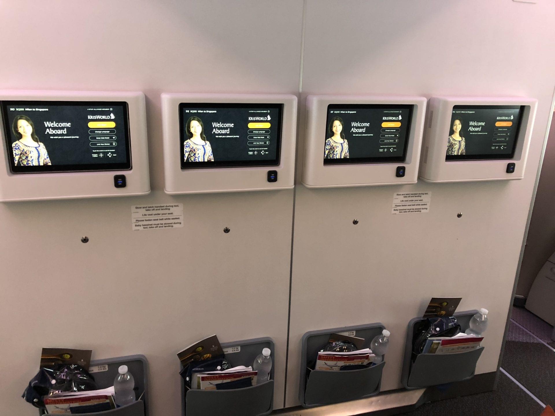 Singapore Airlines Premium Economy Class Bulkhead 3
