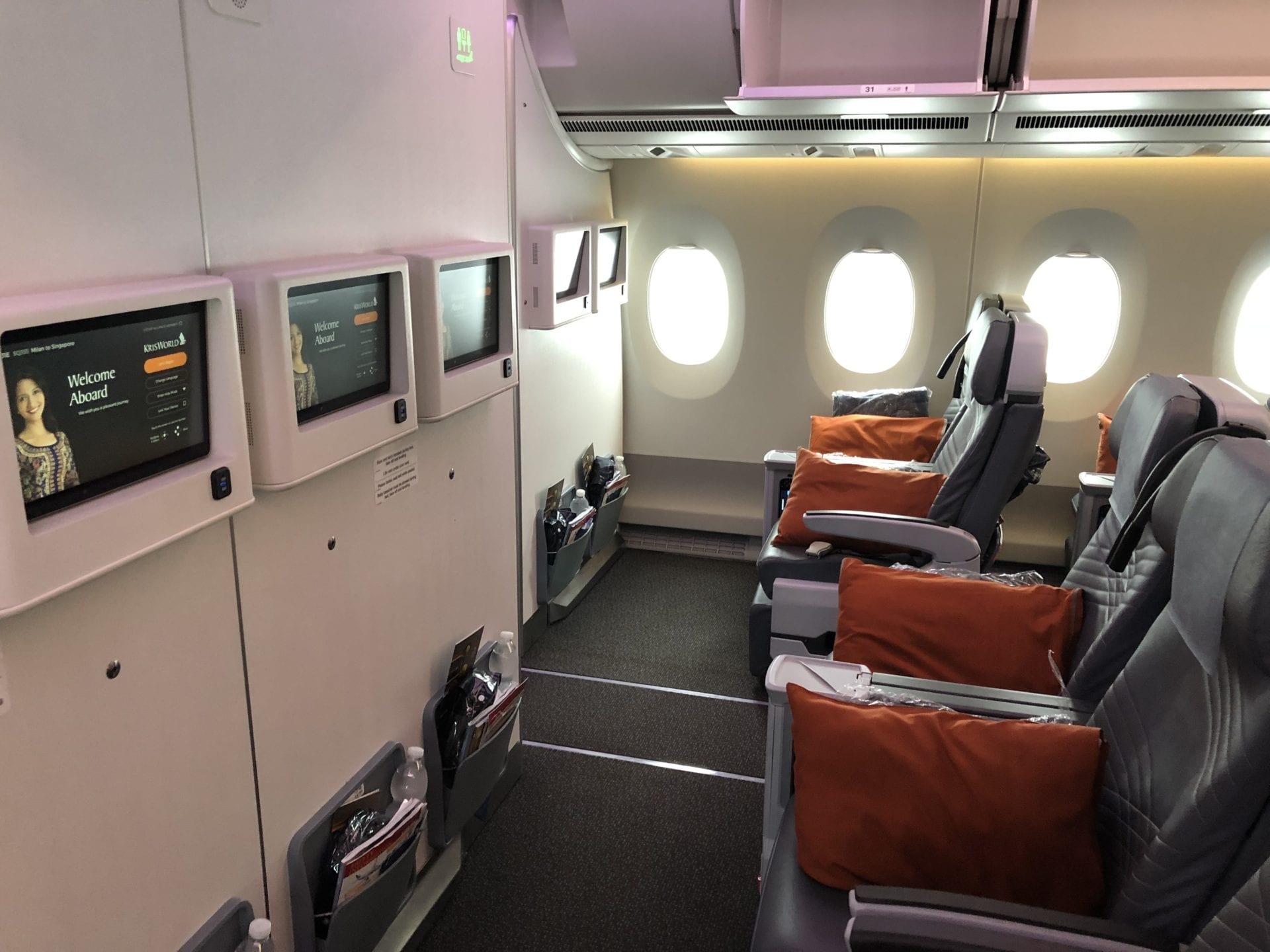 Singapore Airlines Premium Economy Class Bulkhead