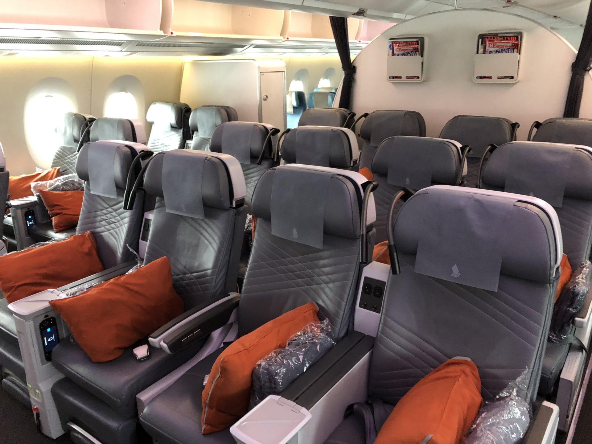 Singapore Airlines Premium Economy Class Kabine