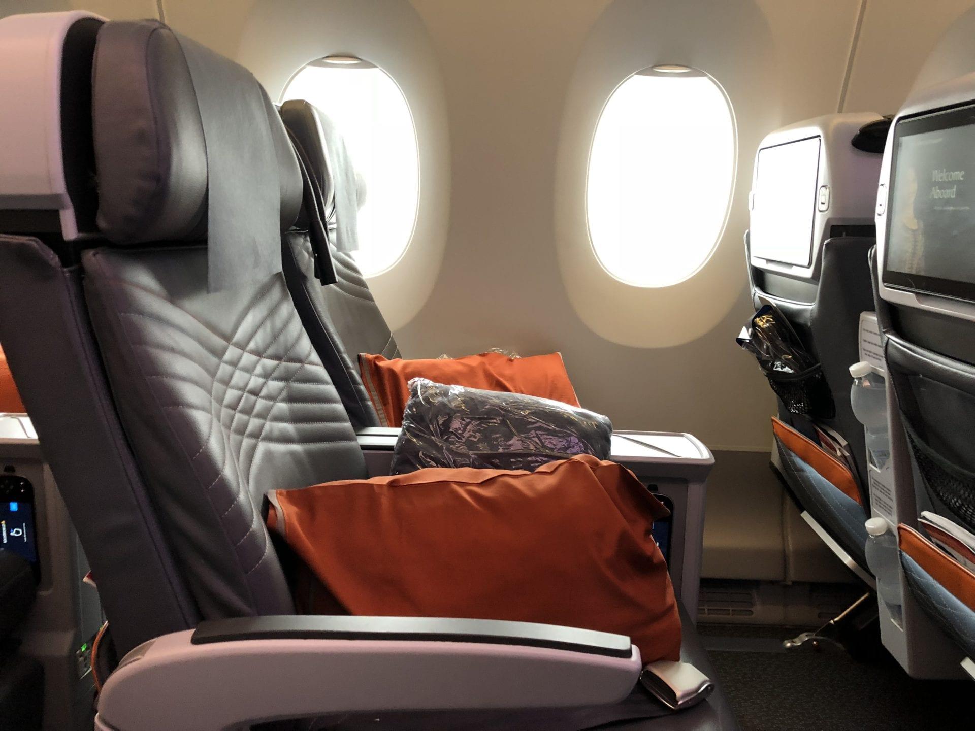 Singapore Airlines Premium Economy Class Reihe 33 2