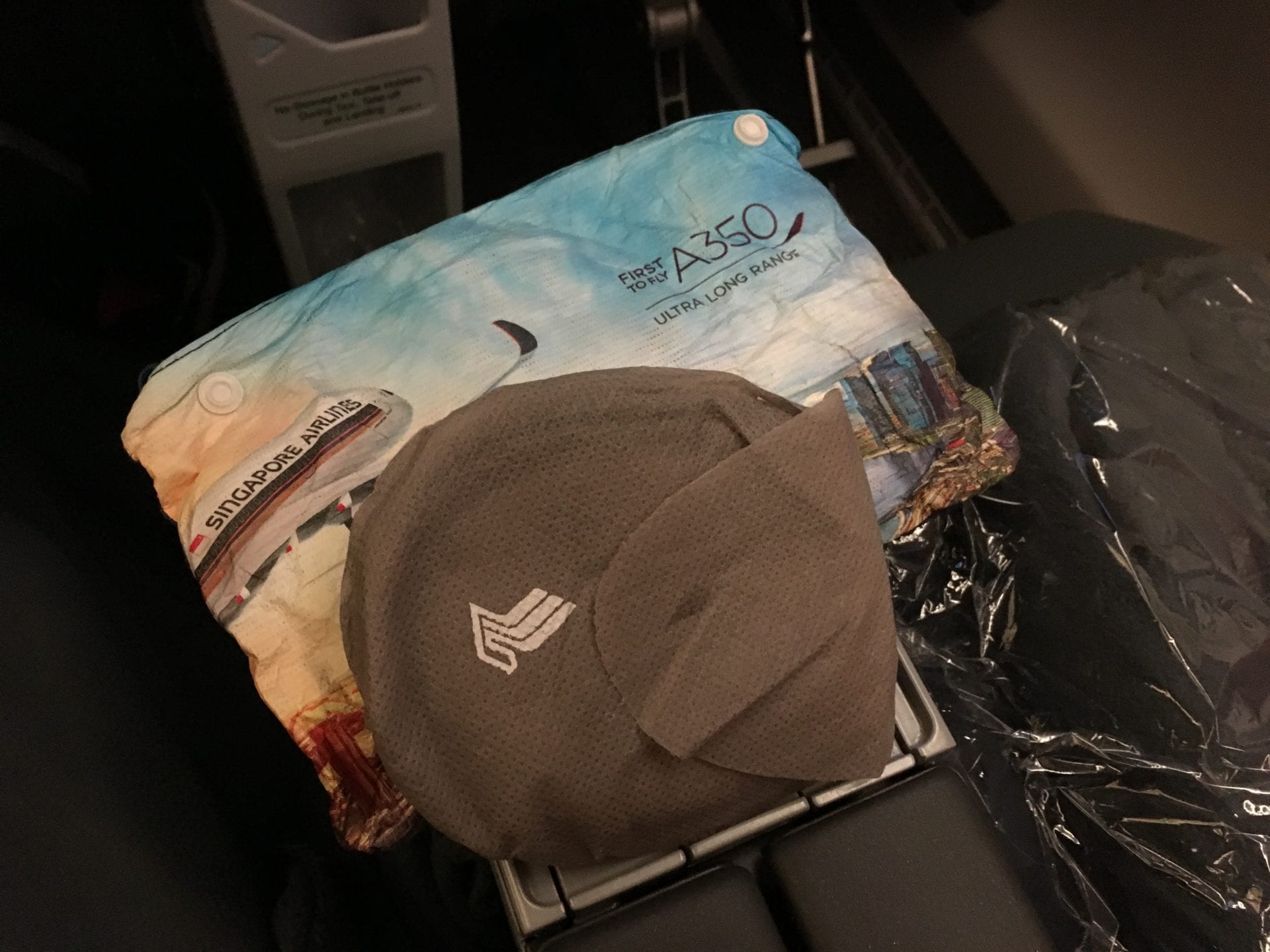 Singapore Airlines Premium Economy Class Ultralangstrecke Amenity Kit