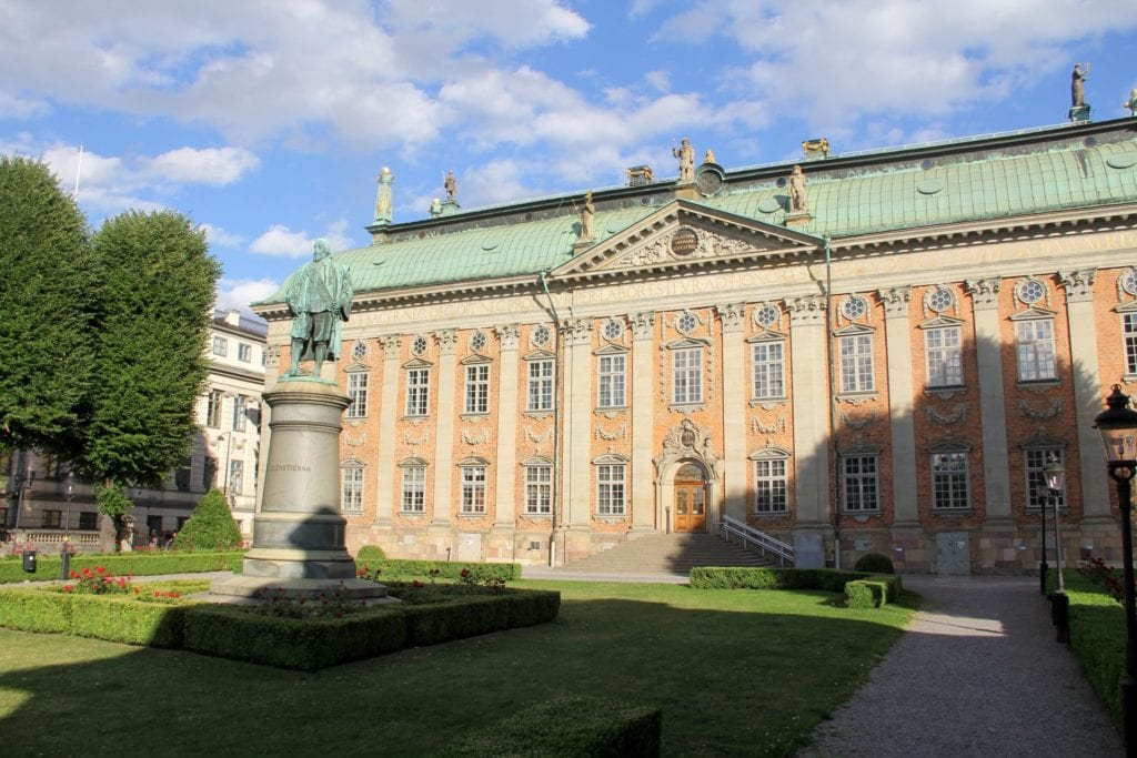 Stockholm House Of Nobility