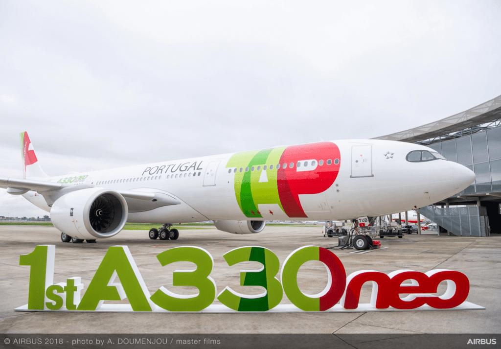 TAP 330neo Exterieur Airbus Bild