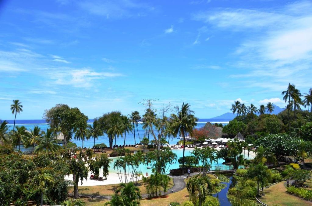Tahiti La Ora Beach Resort By Sofitel Ausblick