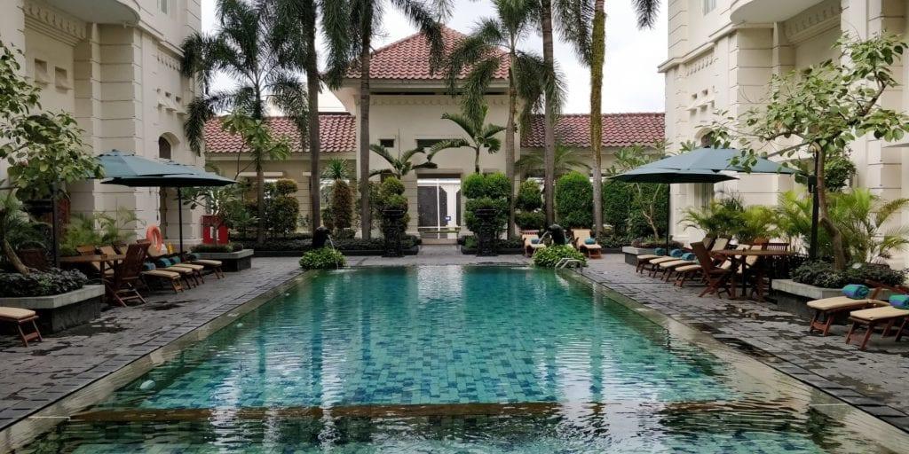 The Phoenix Hotel Yogyakarta Pool 1