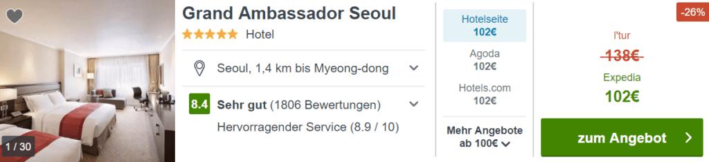 Trivago Pullman Seoul