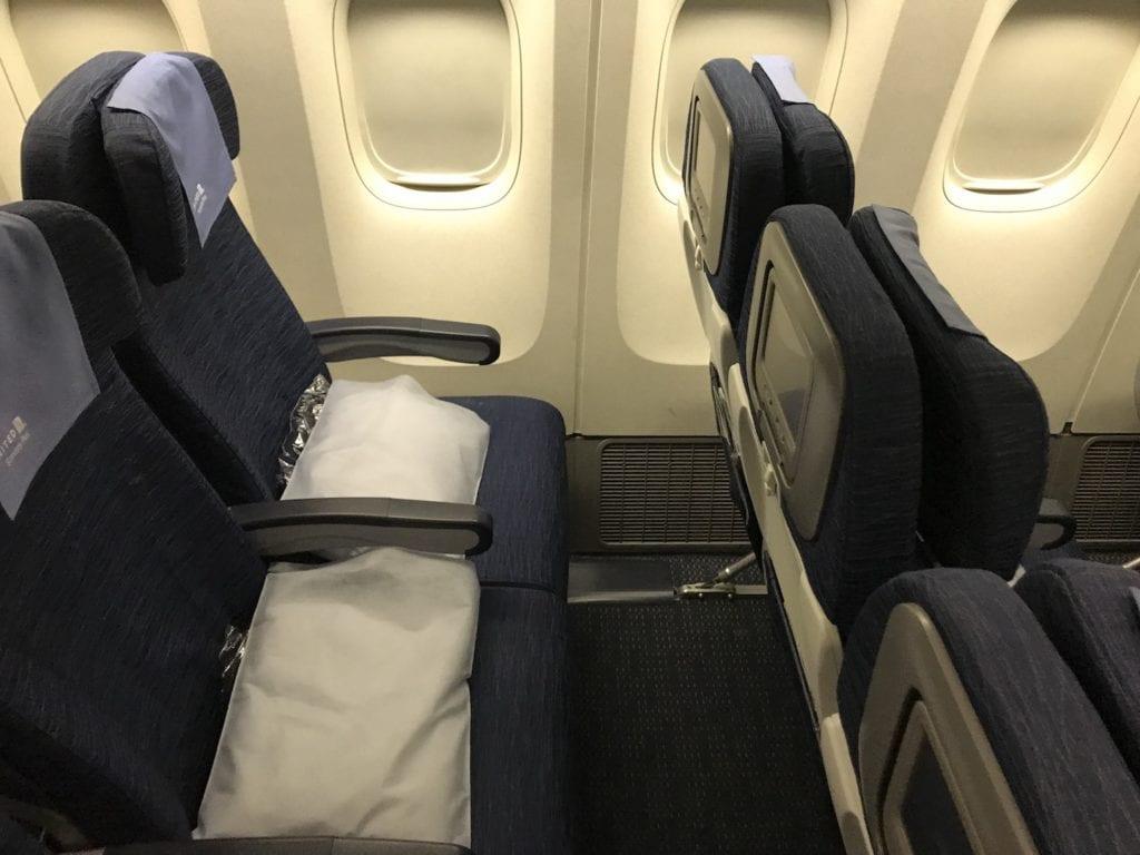 United Economy Plus Langstrecke Sitze 3