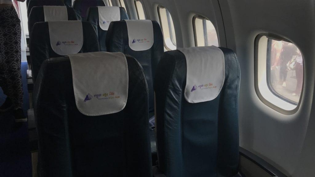 Cambodia Angkor Air Economy Class Sitz