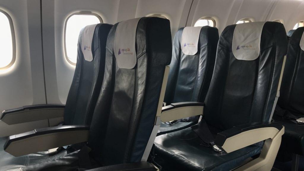 Cambodia Angkor Air Economy Class Sitz 2