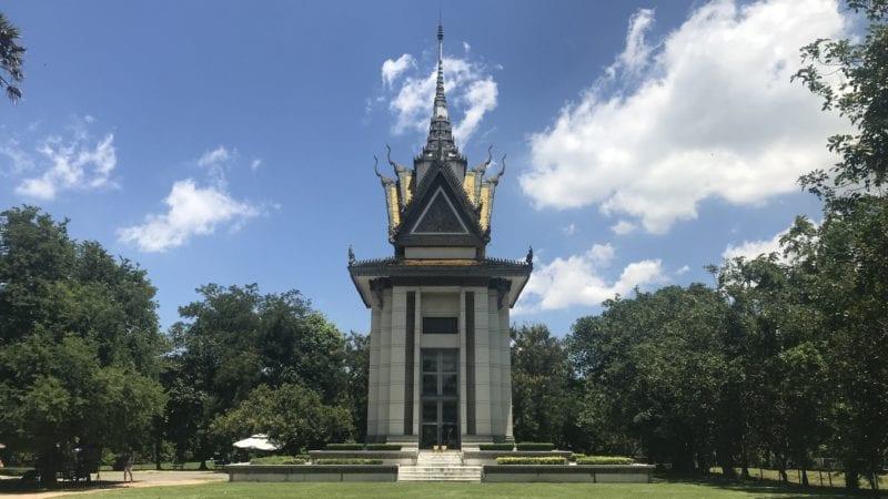 Cheoung Ek Killing Field Kambodscha