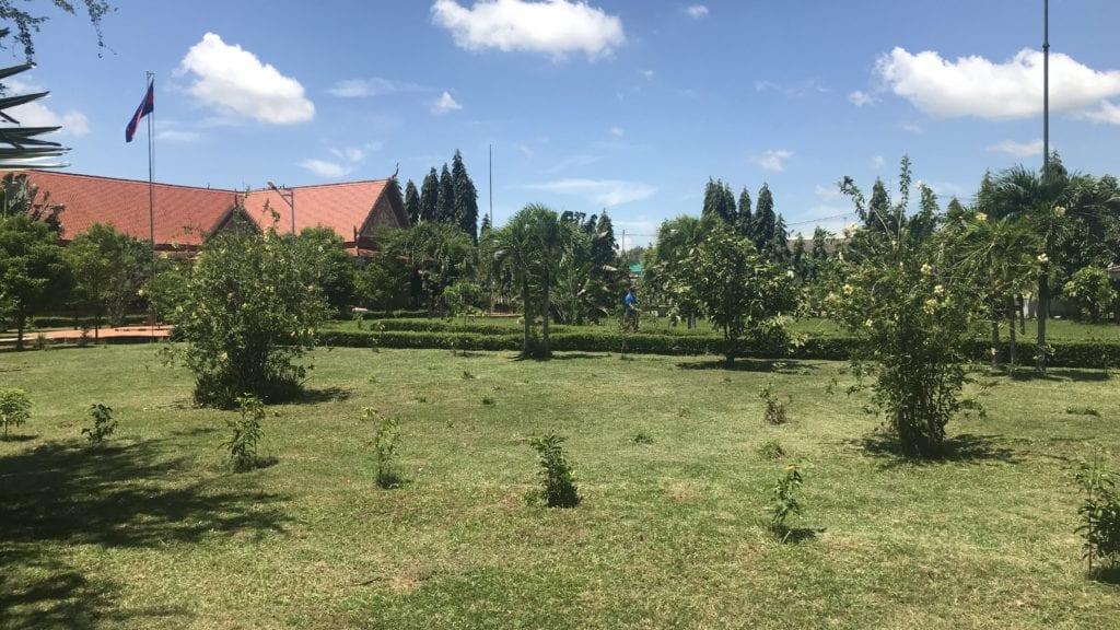 Cheoung Ek Killing Field Kambodscha Grünflächen